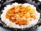 Рецепта Пиле с ананас